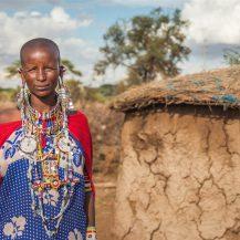 Restless girl: Na obisku pri Masajih