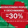 Medsezonski popust v Deichmannu!