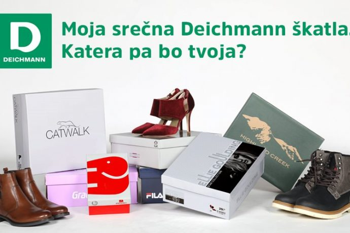 Deichmann in Radio 1: Moja srečna Deichmann škatla